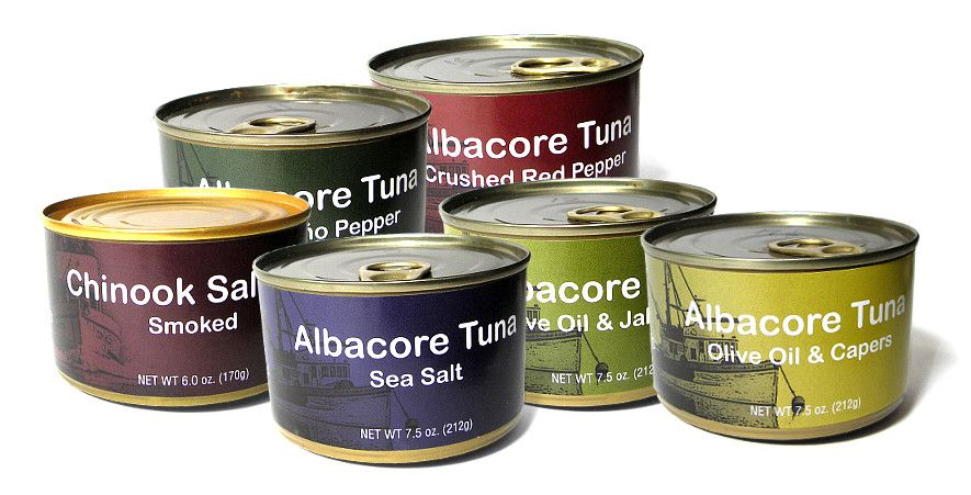 Gourmet albacore tuna sourced only from local Oregon fishermen. Sustainable. Canned on the Oregon coast. No artificial ingredients. Gluten free, soy free. Available in Salt Free, Sea Salt, or delicious natural flavors. No minimum order. tunaoregon.com