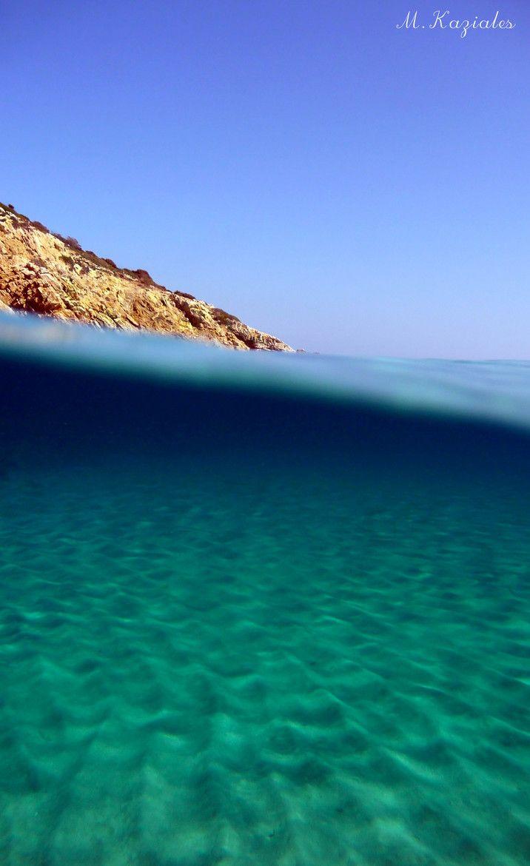 Under the Aegean Sea of Greece