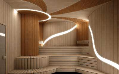 Room Modern Sauna Room Design