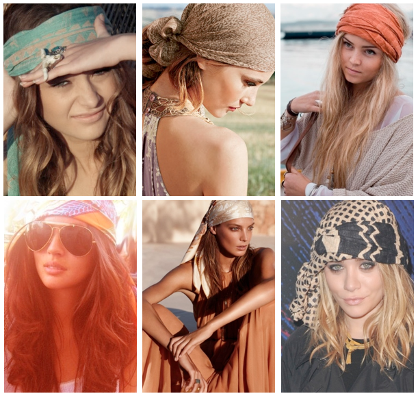 Head scarves, pirate-style | :: JEWELRY + ACCESSORIES ...