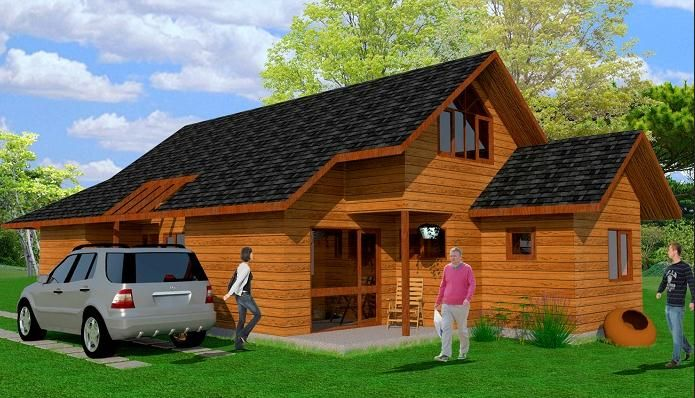 Casas bonitas de campo pesquisa google ideias para a casa pinterest house - Casas de madera prefabricadas monforte del cid ...