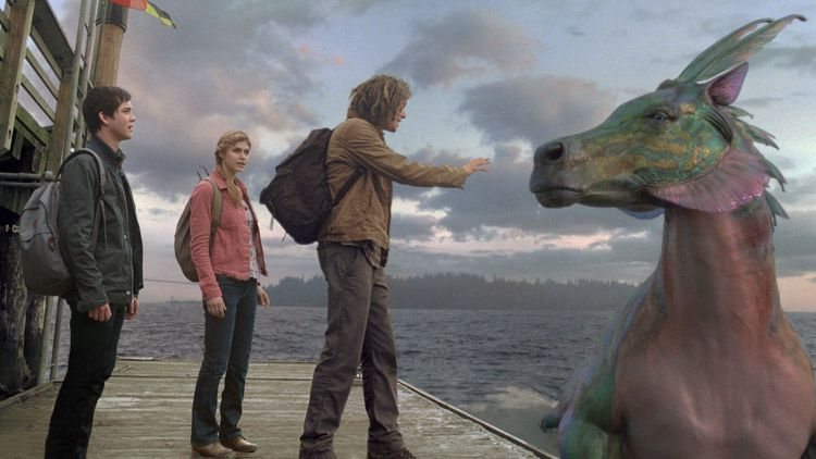Percy Jackson Sea Of Monsters Clip My Other Boat Is A Hippocampus Geektyrant Sea Of Monsters Percy Jackson Movie Percy Jackson