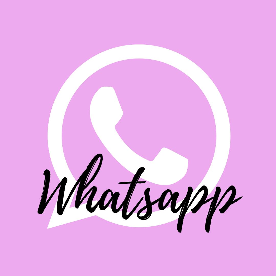Pink Whatsapp Icon Apple Icon Pink Apple Vimeo Logo