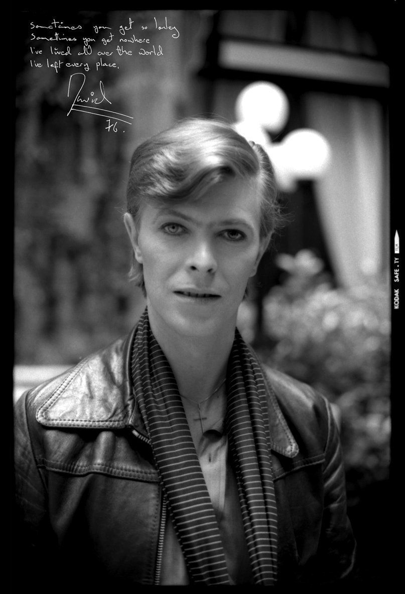 Original David Bowie full frame un-published picture by Philippe Auliac taken at the Plaza Athénée Hôtel in Paris during the shooting of Be My Wife film For RCA Low Album on Kodak TriX Pan film, added with the Chateau d'Hérouville guest book autograph from private collection.(*) Twitter #lowalbum Original David Bowie full frame un-published picture by Philippe Auliac taken at the Plaza Athénée Hôtel in Paris during the shooting of Be My Wife film For RCA Low Album on Kodak TriX Pan fi #lowalbum