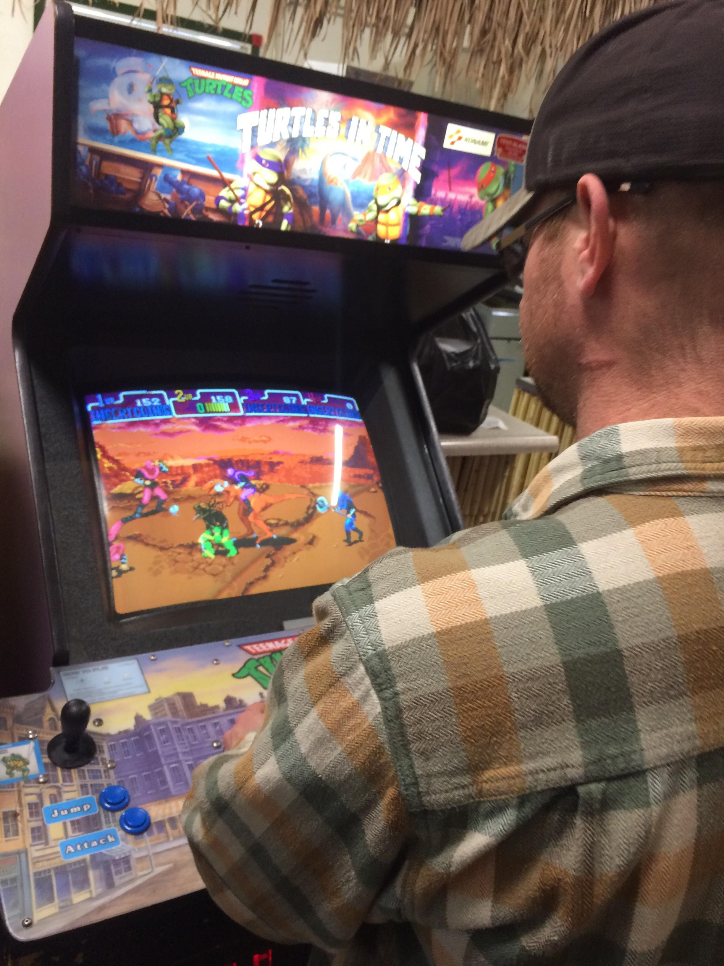 Game for coworkers - Our Local Cheesesteak Shop Has Some Classic Arcade Games Set Up My Coworkers And I