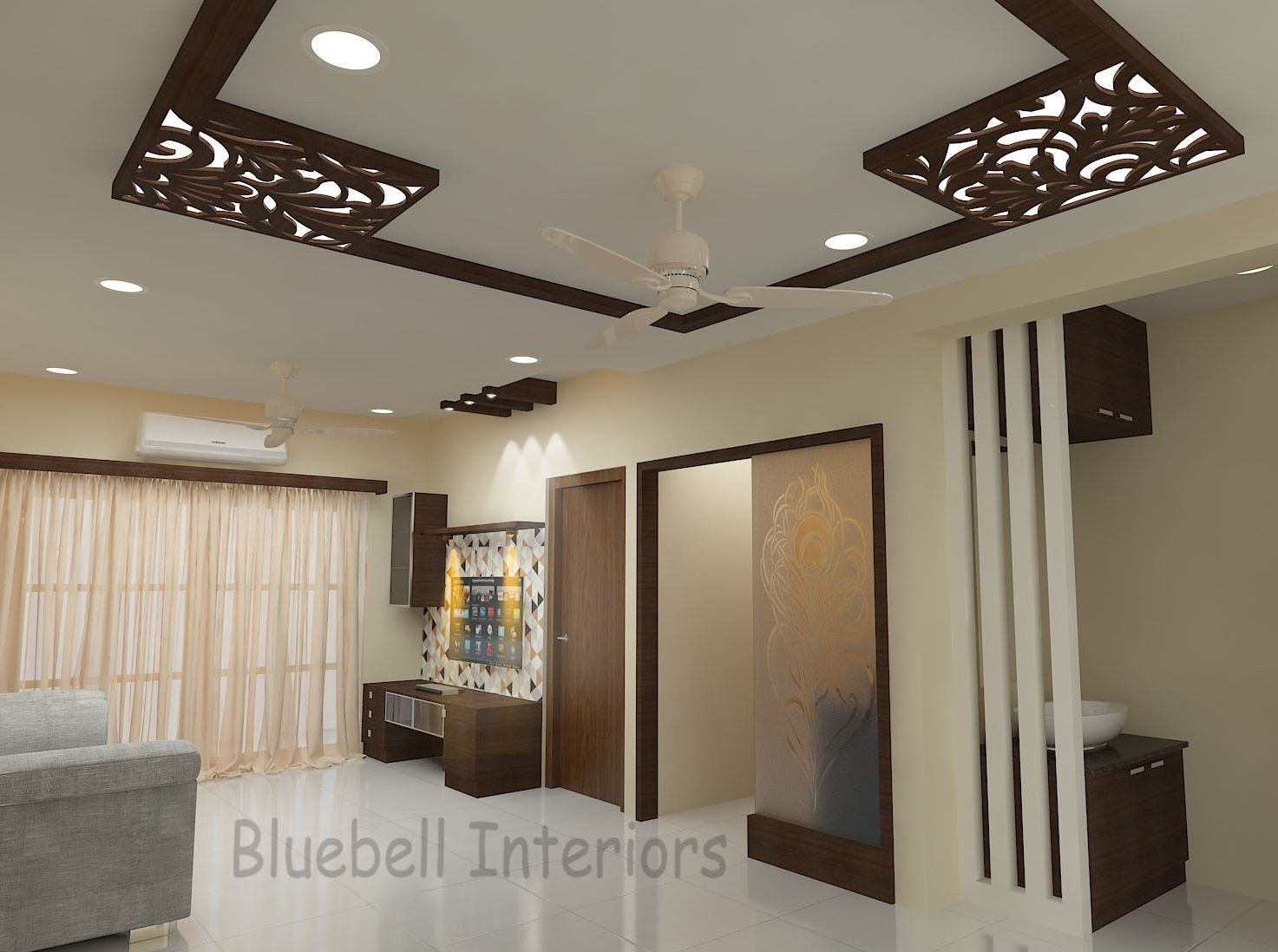 10+ Best Wood Ceiling Ideas For Living Room