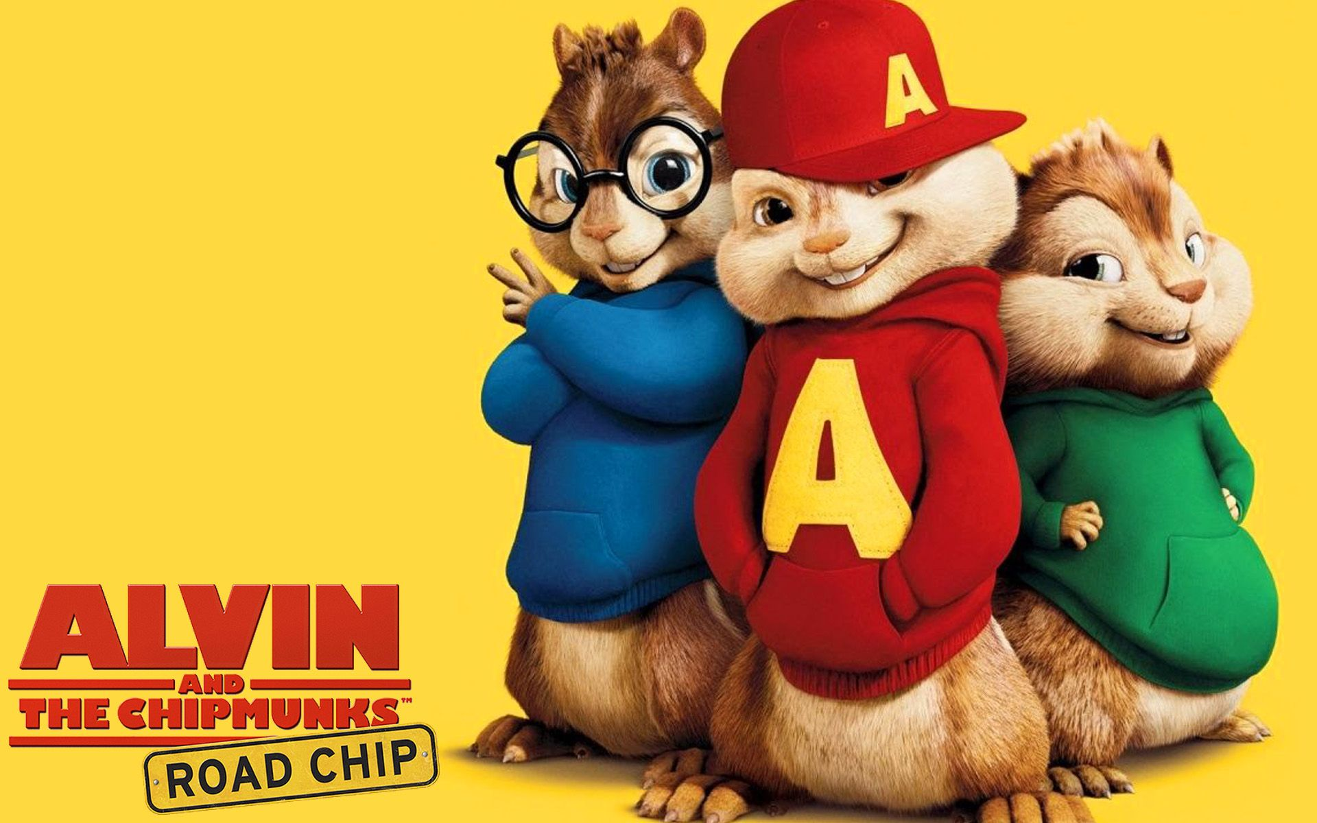 Alvin and the Chipmunks The Road Chip Movie Wallpaper