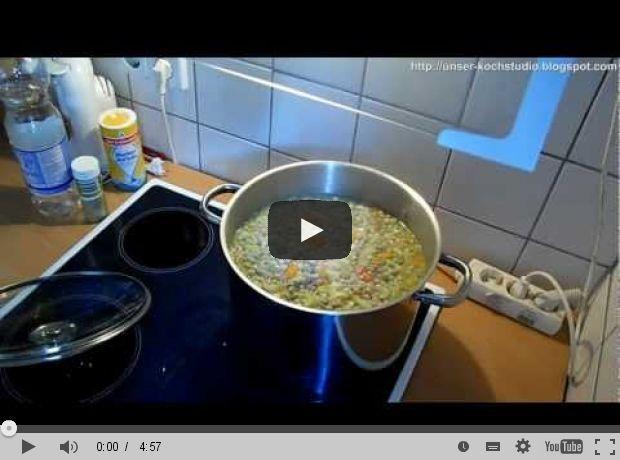 Für die kalten Tage: Erbsensuppe nach Bundeswehrart