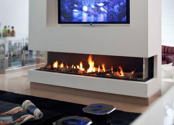 kamin design wohnzimmer wandgestaltung modern | ideen rund ums ... - Wohnzimmer Design Modern Mit Kamin