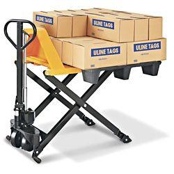 scissor lift truck standard fork 45 x 27 h 1785 uline rh pinterest com