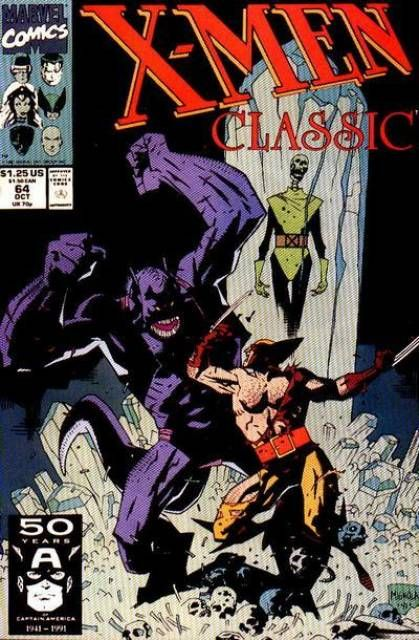 X Men Classic 64 Chutes And Ladders Issue By Mike Mignola Mike Mignola Comic Books Art Comic Book Artists