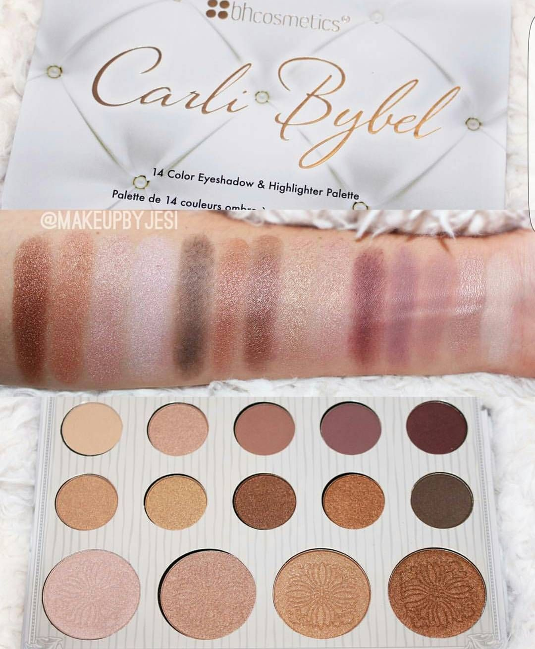 Instagram Carli Bybel Palette Bh Cosmetics Instagram Posts