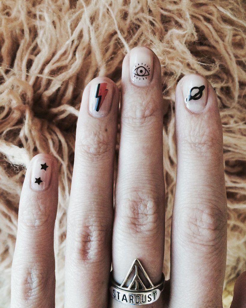 Eye Nail Decals - REDWOLF - 2 | make me up | Pinterest | Nail decals ...