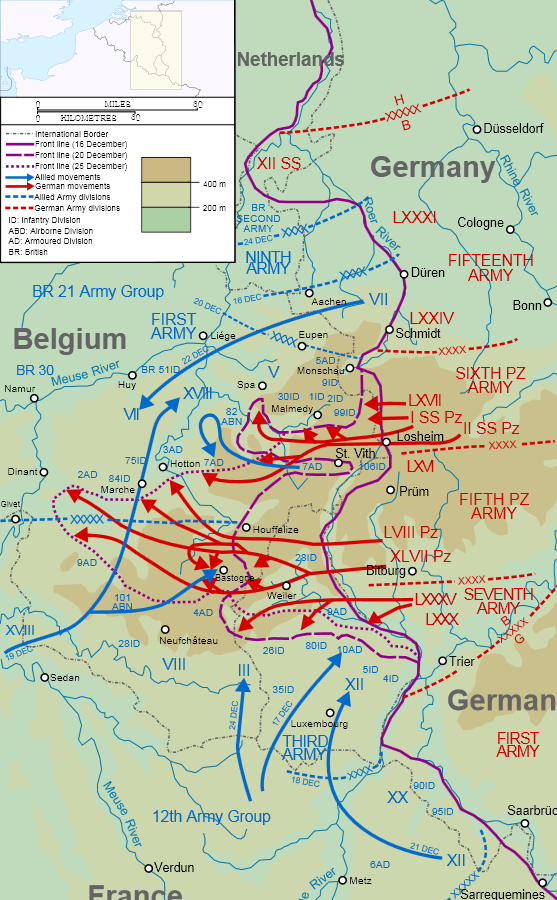 Battle of the Bulge 1944 Battle of