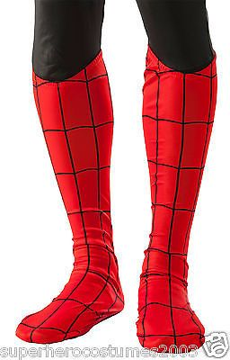 Spider-man #adult #deluxe boot covers marvel comics - red - #rubies 35657,  View more on the LINK: http://www.zeppy.io/product/gb/2/252115685539/
