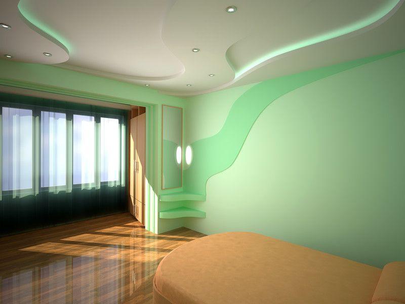Bildergebnis für wandgestaltung mit farbe muster Wände - wandgestaltung für schlafzimmer