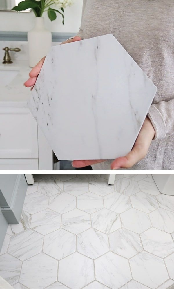 Photo of My Favorite Porcelain Marble Tile – Angela Marie Made