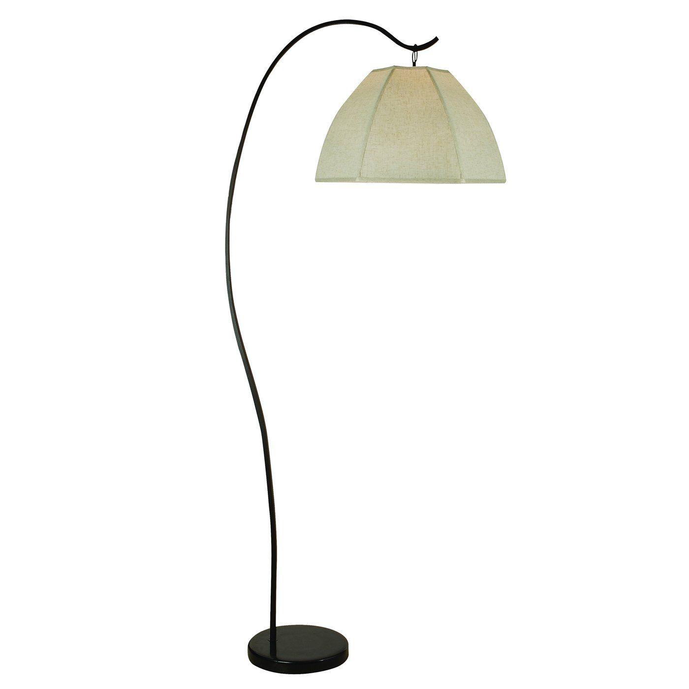 Trend Lighting TFA8965 Bordeaux Arc Floor Lamp Antique Bronze For Living Room