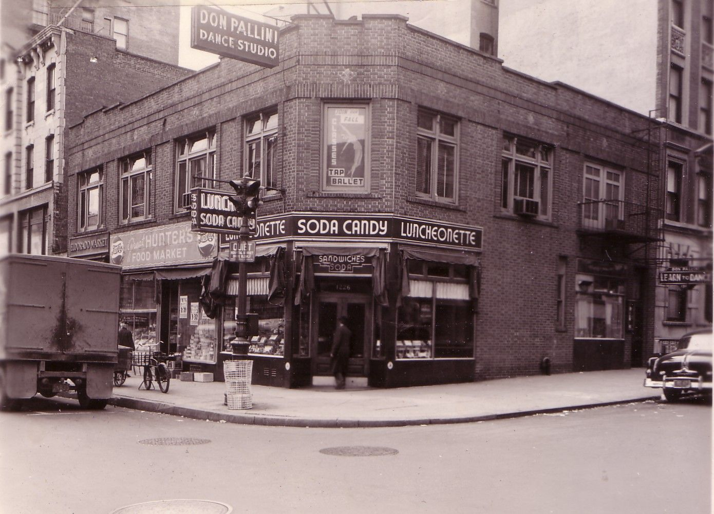 then- since 1925- original New York City Luncheonette serving authentic American fare! Vintage New York