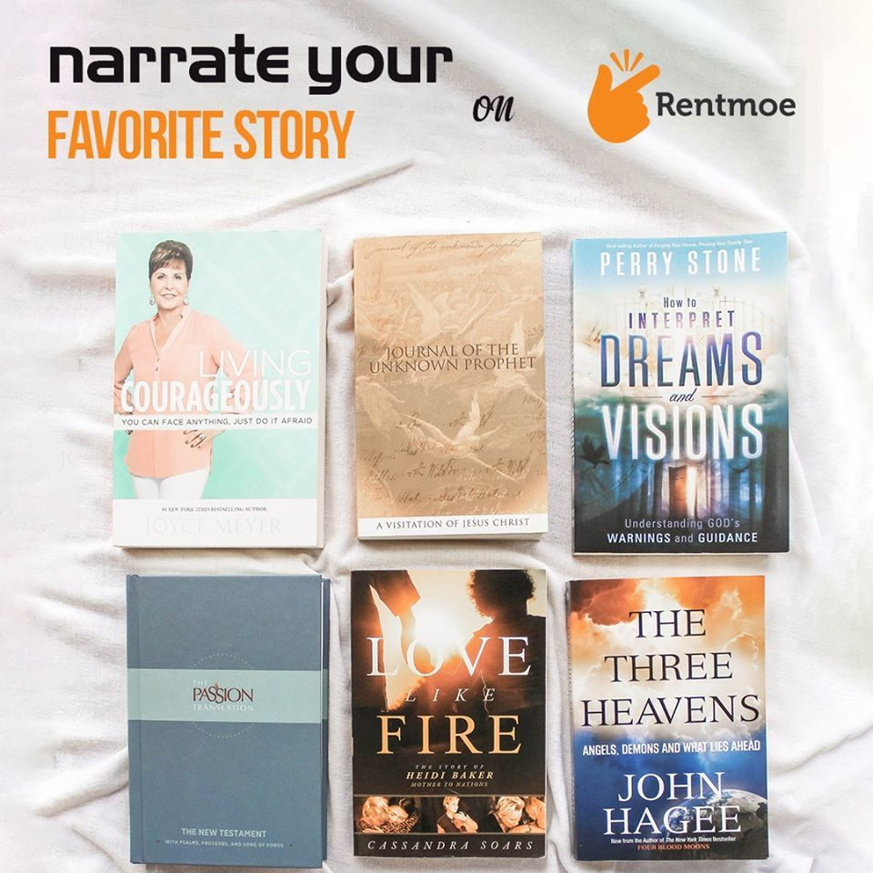 Novels Narrate your favorite story with