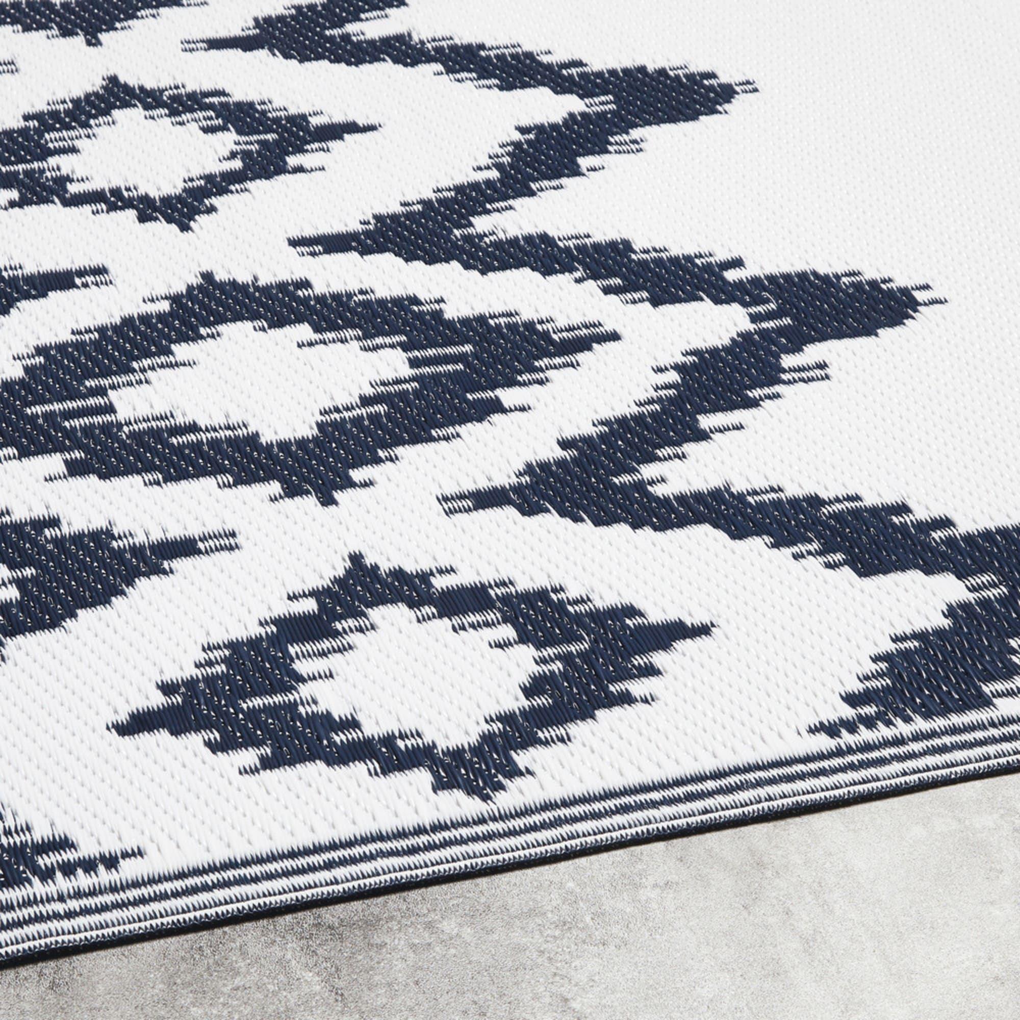 tapis d exterieur blanc motifs