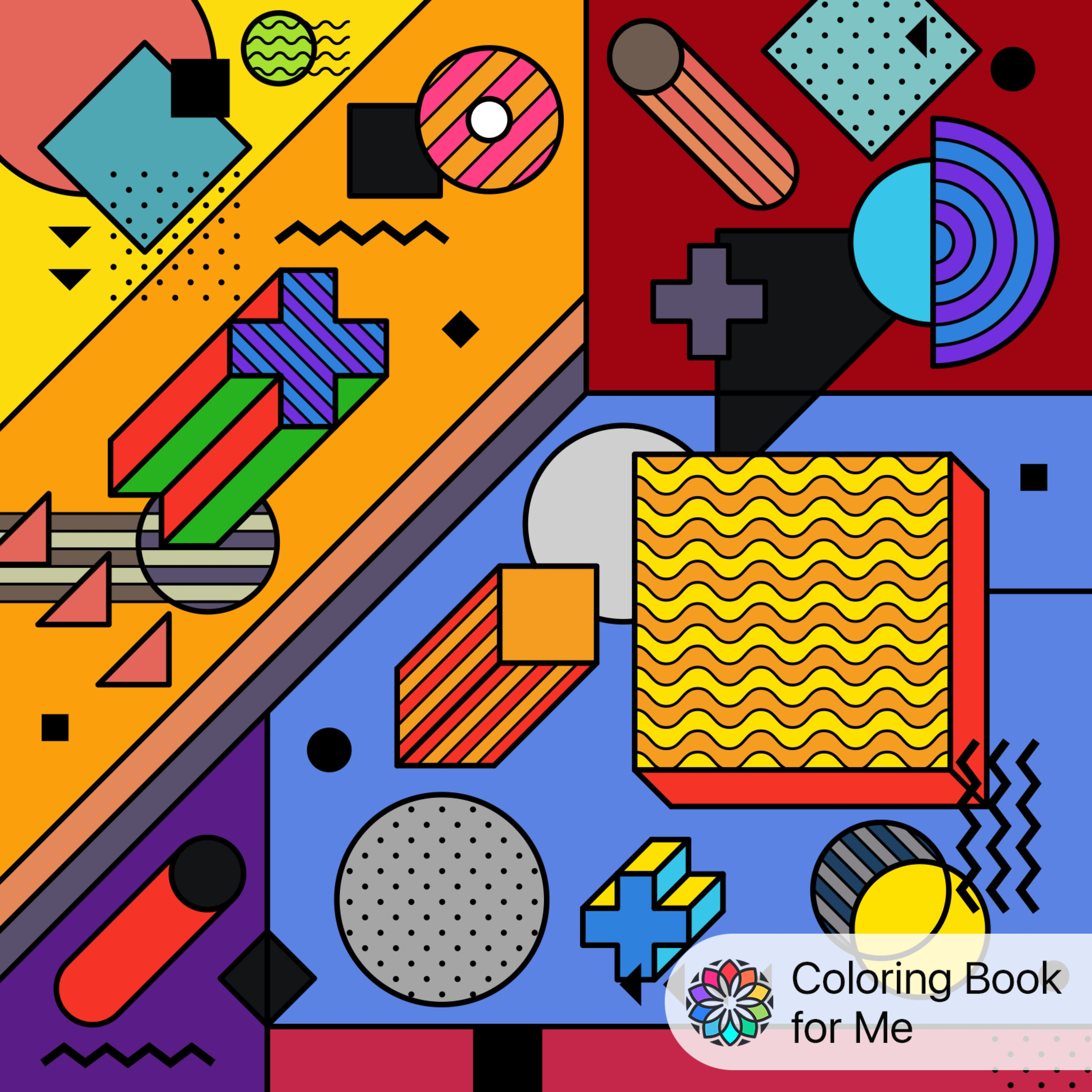 Colored With #Coloringbookforme