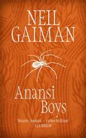 Book cover for Anansi Boys