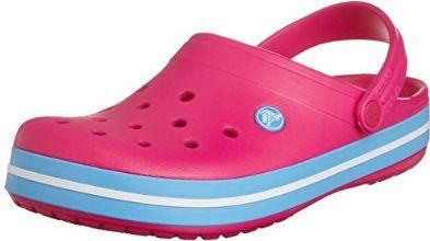 Crocband II.5 Clog, Mixte Adulte Sabots, Rose (Candy Pink/Bluebell), 41-42 EUCrocs