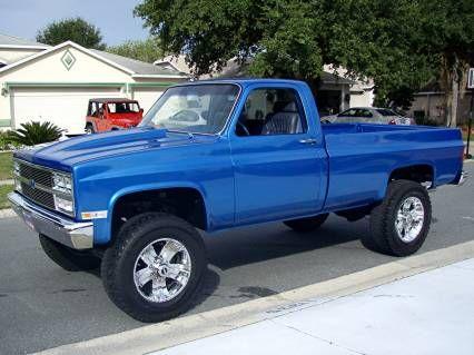 1984 chevy pickup 4x4