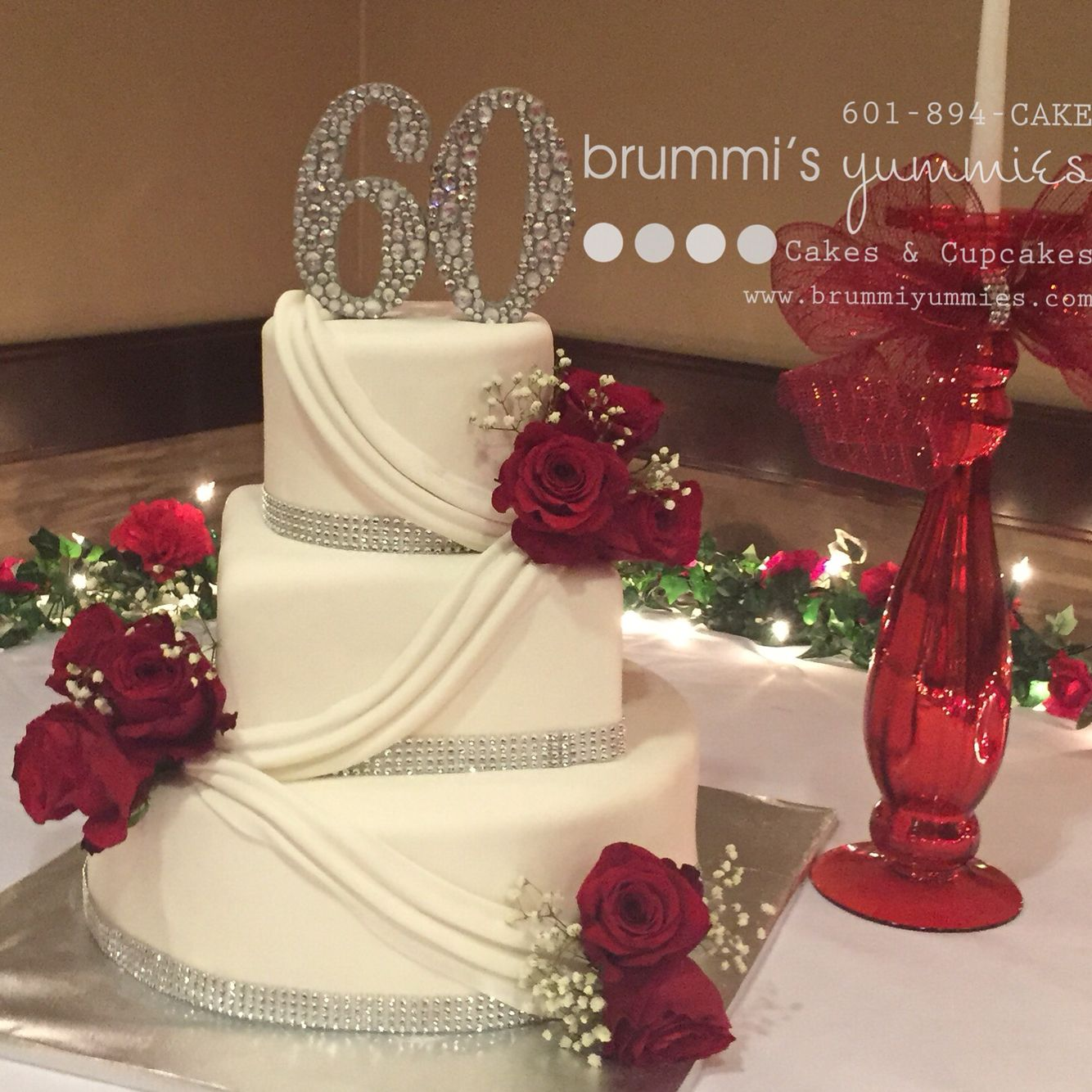 60th Anniversary cake 60th anniversary cakes, 60th