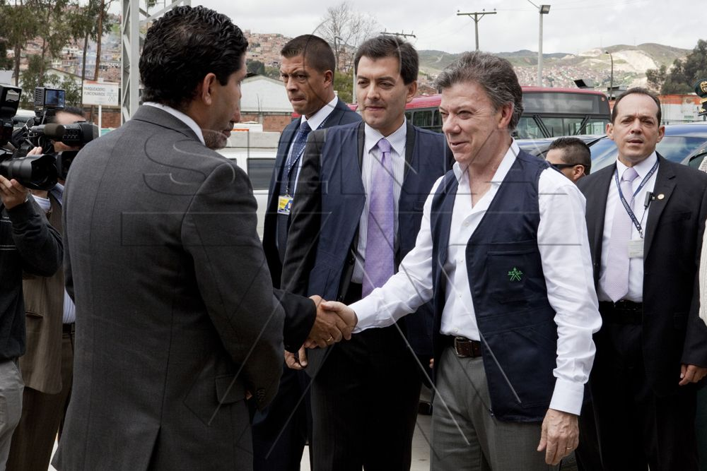 Bienvenida Presidente Juan Manuel Santos Calderón en evento del SENA