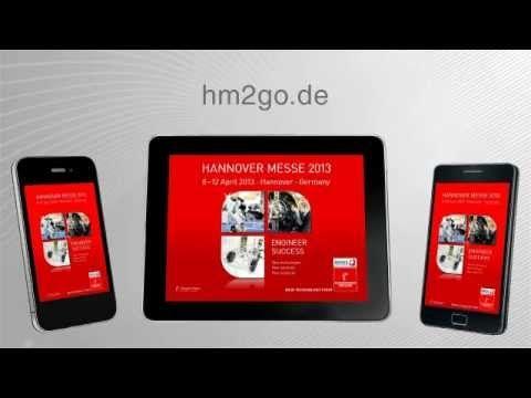 Die HANNOVER MESSE App – Der mobile Messeguide