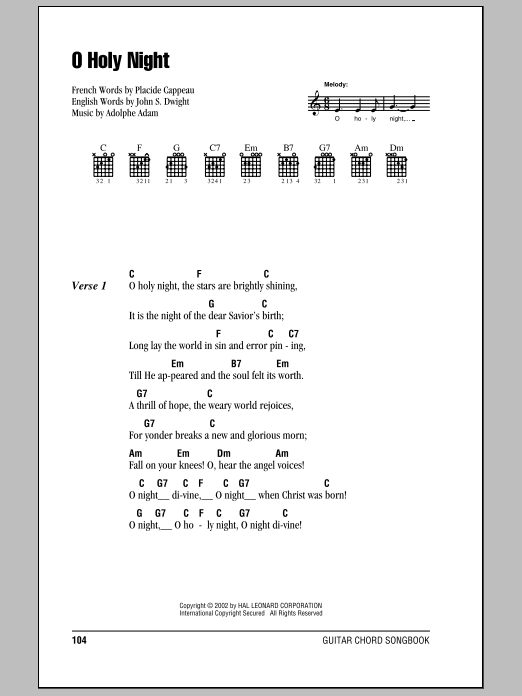 ukulele chords o holy night - Google Search | UKULELE | Pinterest ...