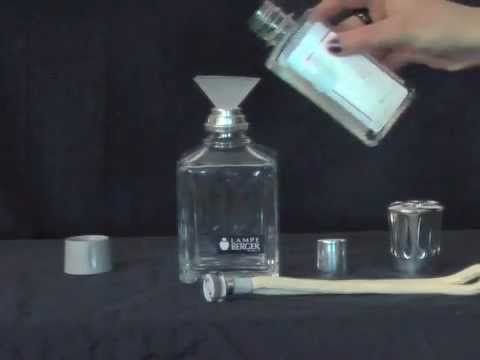 How To Set Up Your Lampe Berger Lamp Youtube Lamp Perfume Bottles Household Hacks