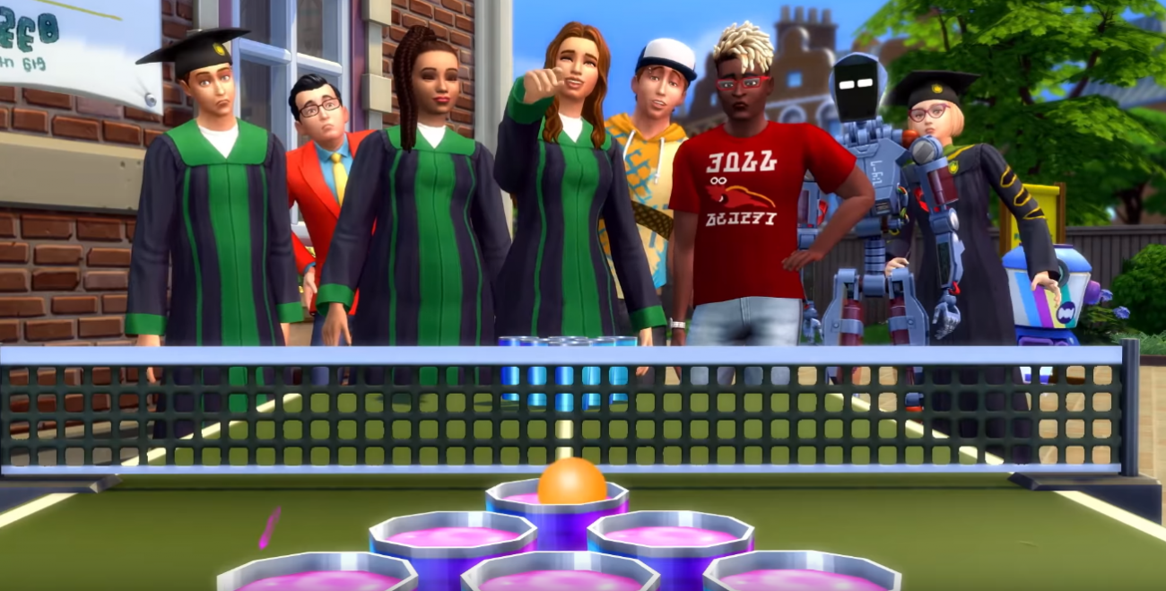 The Sims 4 Discover University Dlc Pack Throws It All Back To School Sims Sims 4 Back To School