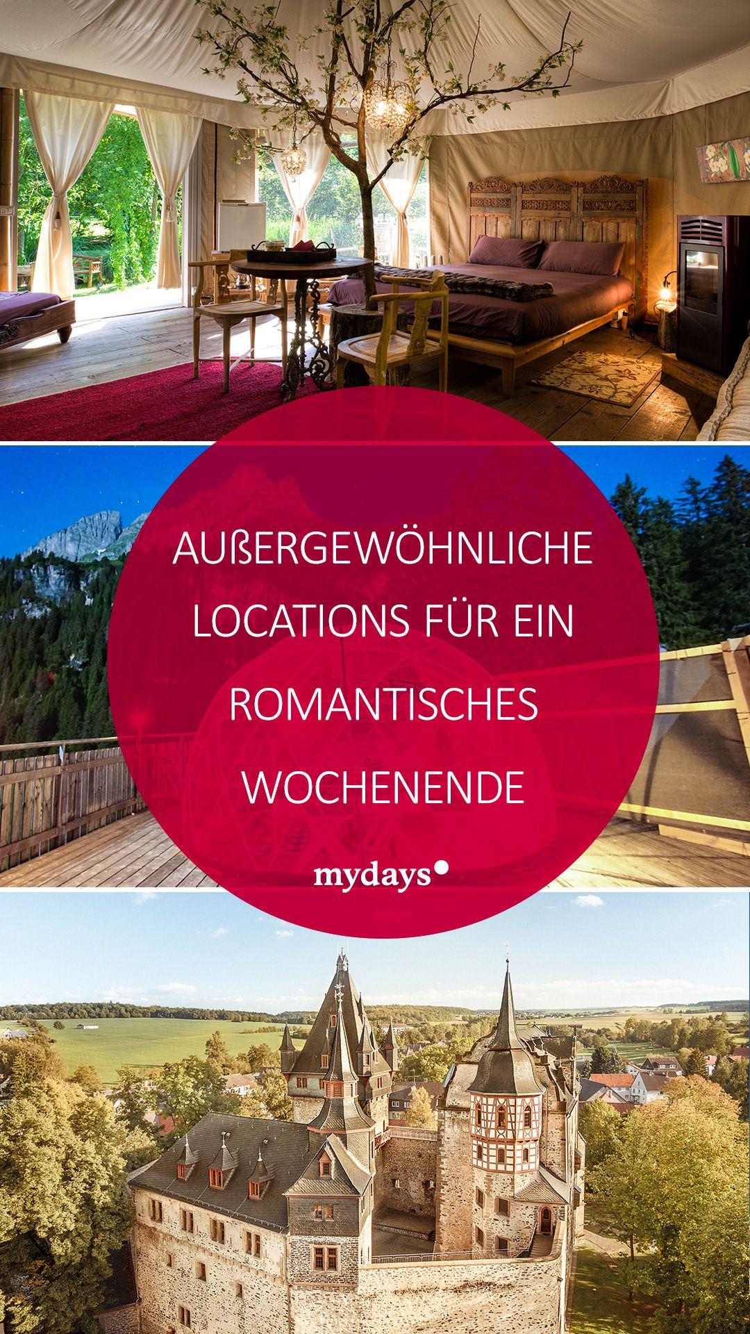 Romantikwochenende 6 Aussergewohnliche Locations Mydays Magazin Romantischer Kurzurlaub Aussergewohnliche Hotels Hotel Deutschland