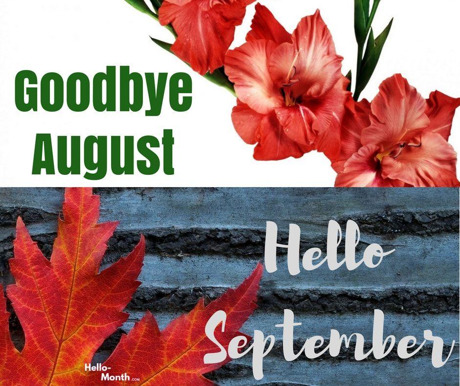 Goodbye August Hello September Gif