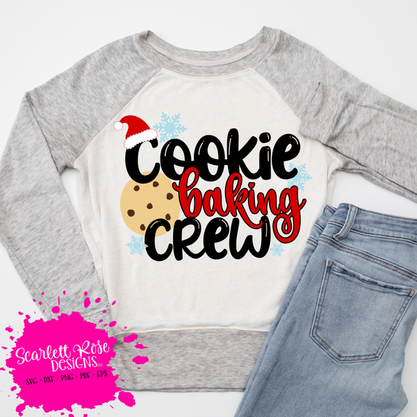 56 Slice And Bake Cookies For Easy Christmas Baking: Cookie Baking Crew - Christmas SVG