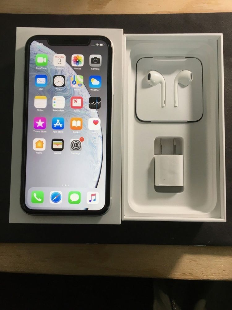 Apple Iphone Xr 64gb White At T Att Iphone Xr Iphonexr