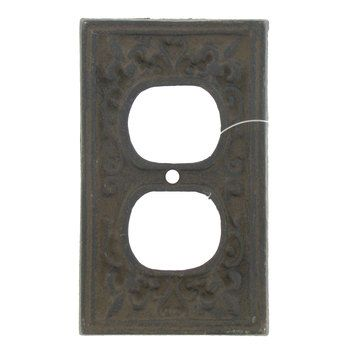 Rust Cast Iron Outlet Cover Hobby Lobby 466144 Outlet Plates Outlet Covers Cast Iron