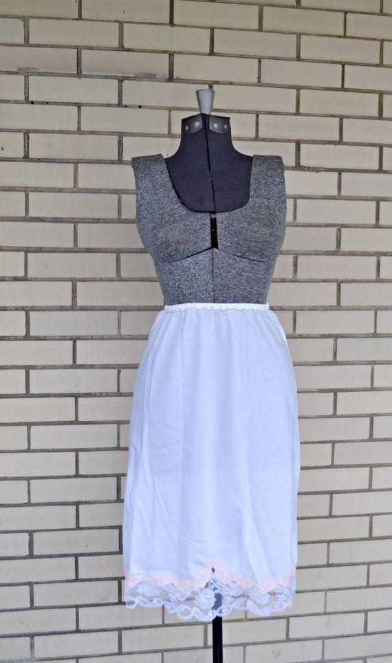 ae7042f067 60s nylon half slip | Odette Barsa | 1960s white lingerie | Odette ...