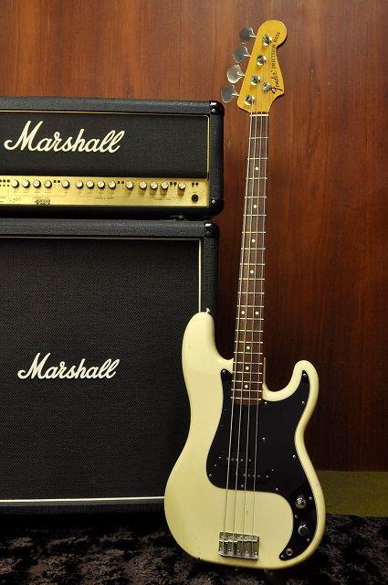 Fender Japan 70 Reissue Jazz Bass JB70 US Olympic White Alder BodyUS Pickup