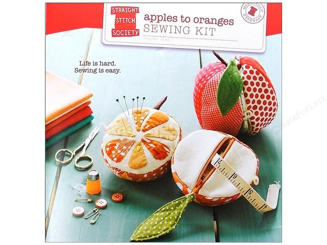 Fruity sewing kit
