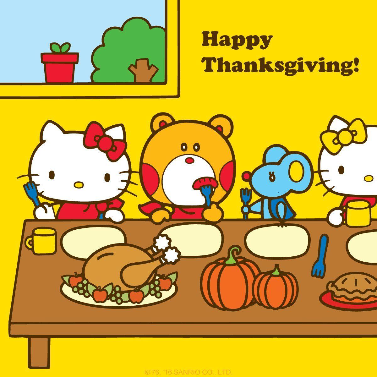 Hello Kitty Thanksgiving