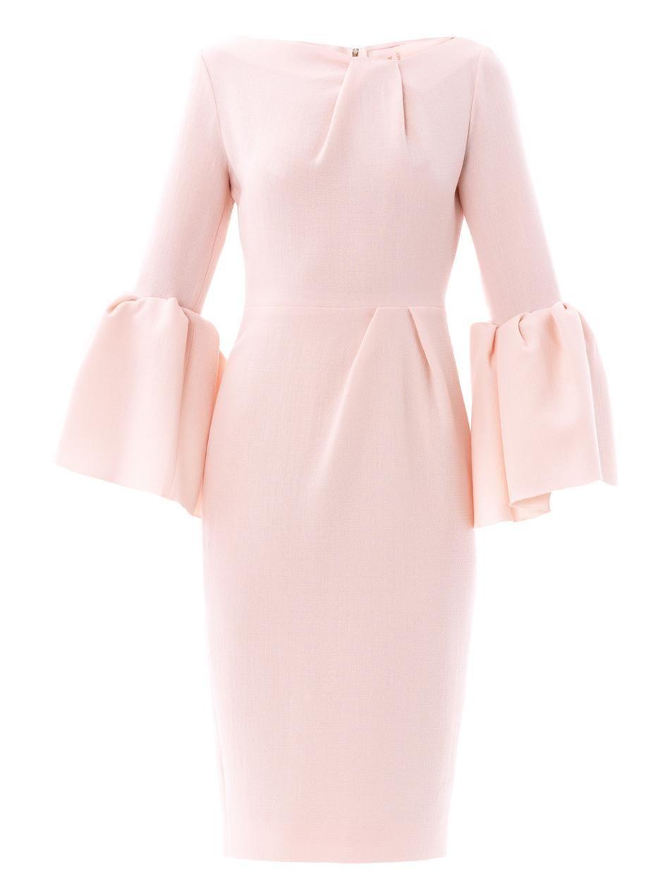 Margot wool-crepe dress | Roksanda Ilincic