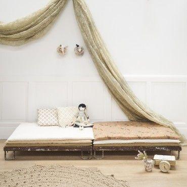 Épinglé Par Stéphanie Juillet Sur Bricolage Pinterest Chambre - Canapé 3 places pour deco chambre fille