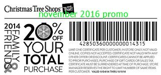 Christmas Tree Shops Coupons | Christmas tree shop, Free ...