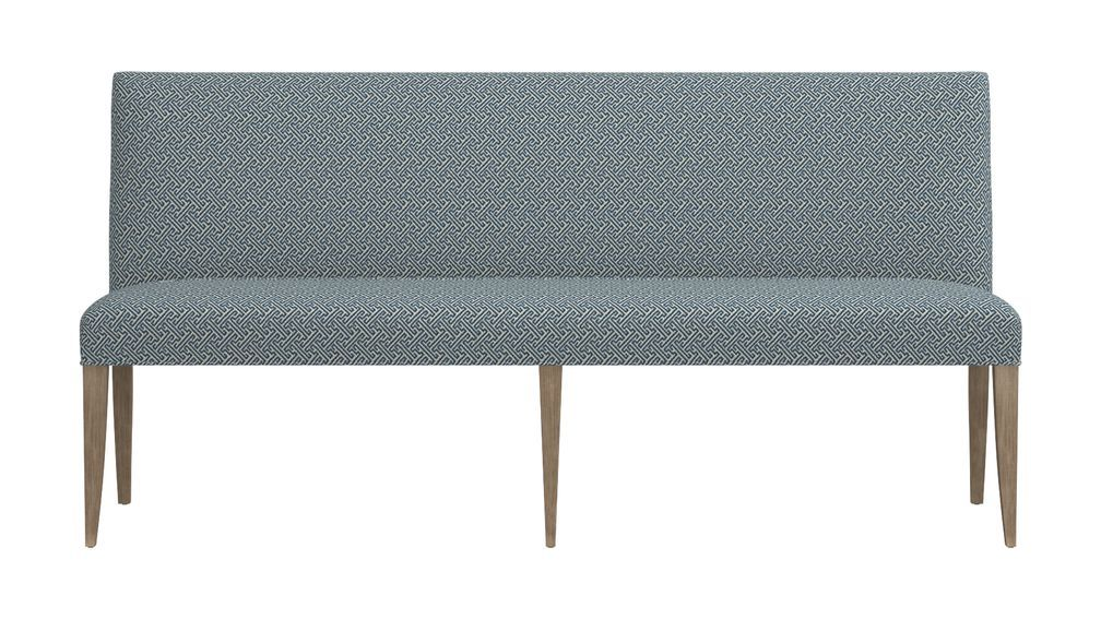 """Miles 76"""" Upholstered Grand Dining Banquette Bench ..."""