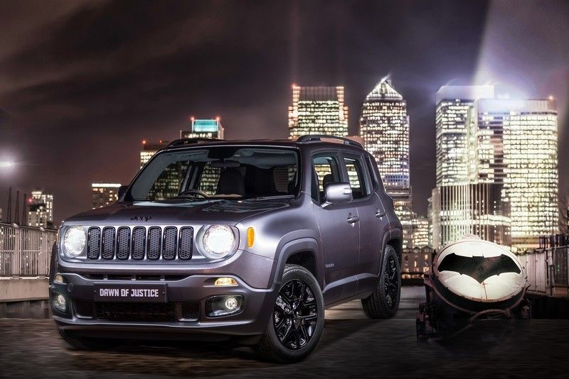Jeep Uk Has Prepared A Limited Run Renegade Dawn Of Justice