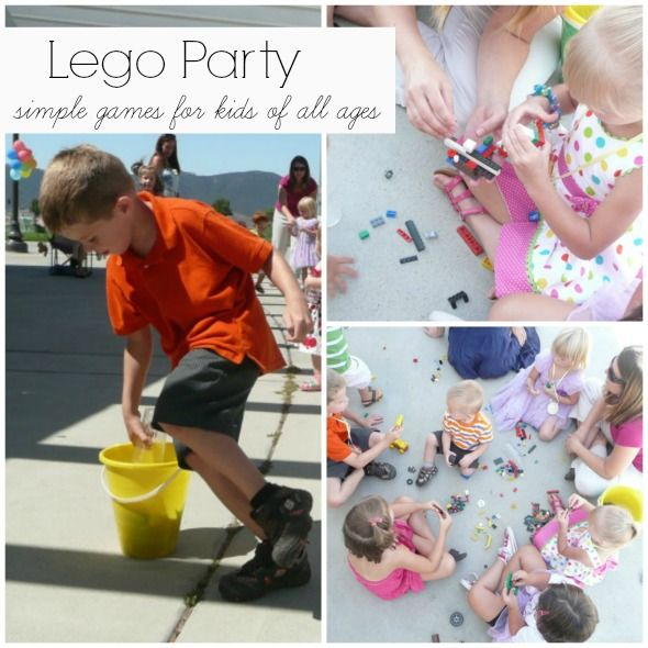 3 Easy Lego Birthday Party Games For Kids